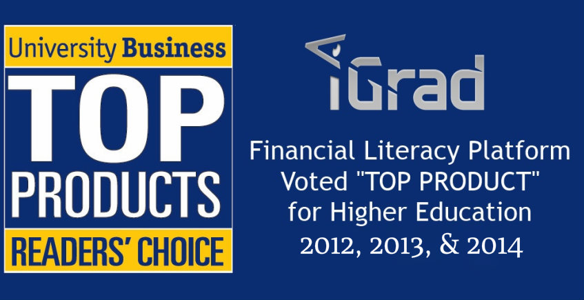 iGrad Awarded Top Product by University Business for Third Consecutive Year