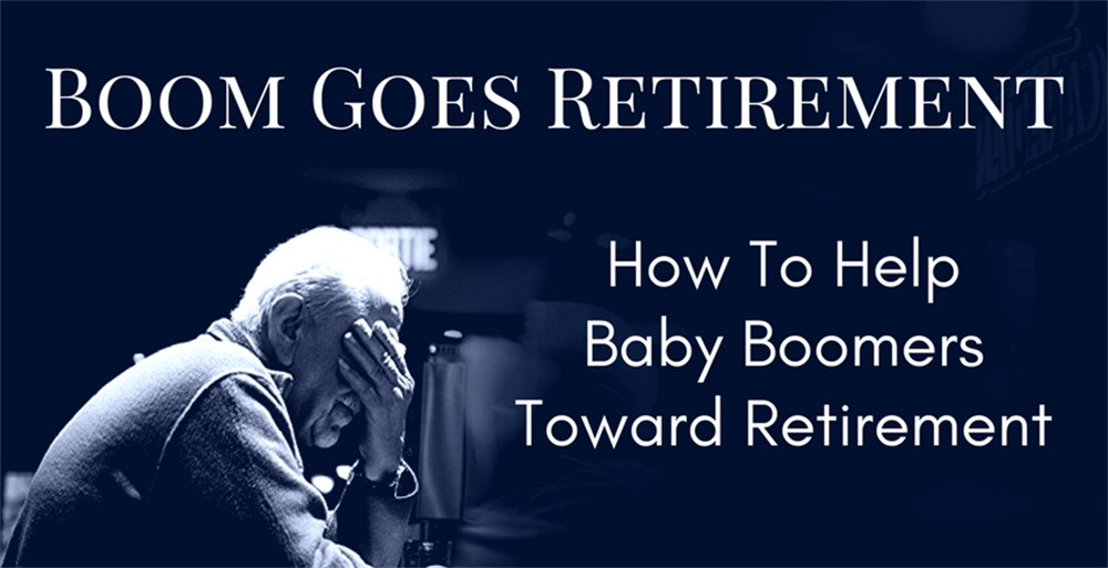 Stressed Baby Boomer Facing Retirement