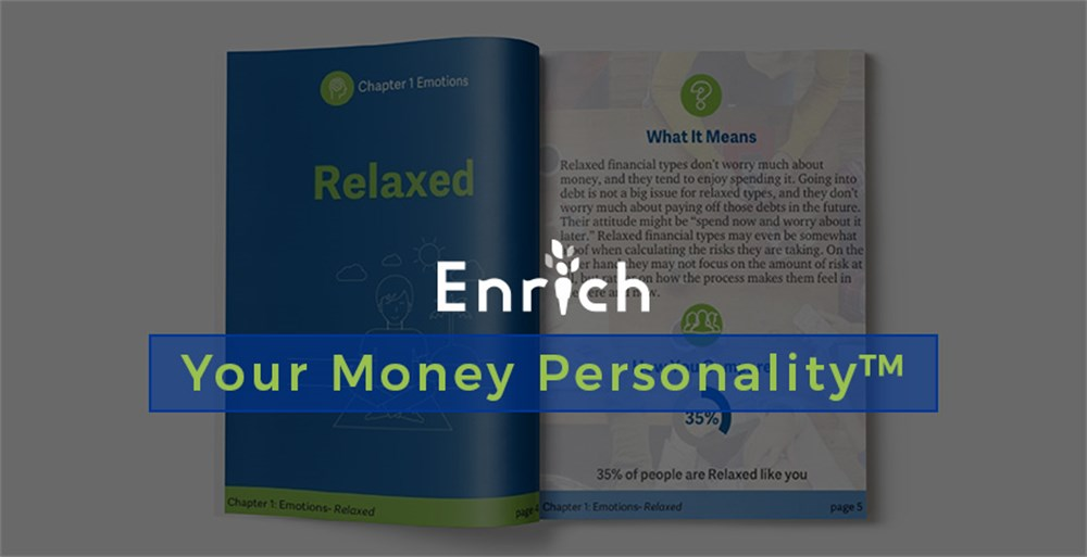 Enrich's Your Money Personality Financial Behavior Assessment