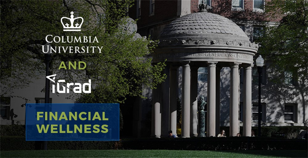 Columbia University and iGrad financial wellness partnership