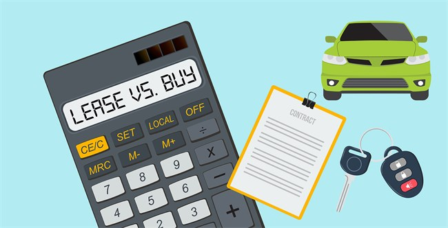 car auto lease vs buy calculator