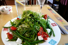 Green Beans with Tomato and Feta Salad