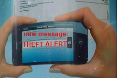 Mobile Phone Bank Security Alerts